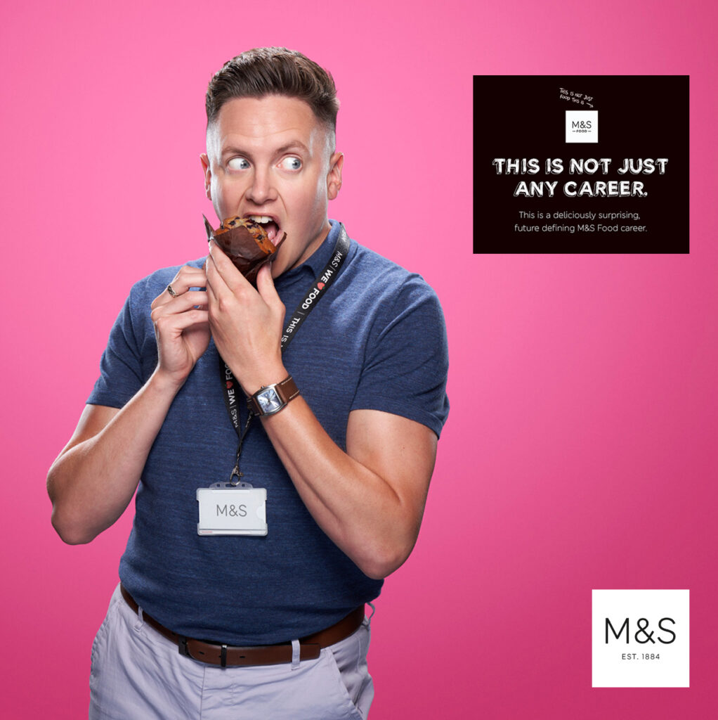 Ben McDade People Portrait Corporate Documentary Advertising Reportage Environmental CSR Corporate Social Responsibility Social Enterprise Photographer Photography Local Regional Global London UK Positive Campaign Man Male in photographed in studio Marks & Spencer